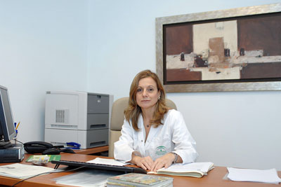 Marina Álvarez Benito, directora gerente del Hospital Reina Sofía