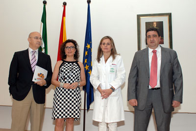 Antonio Mantero, Isabel Baena, Marina Álvarez y Francisco Aranda