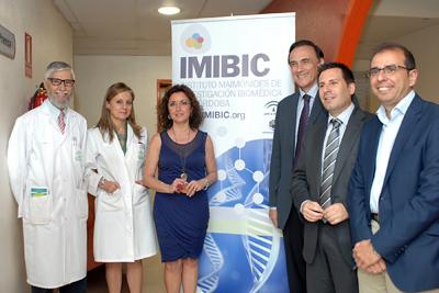 Presentación de la Memoria Científica del IMIBIC 2013