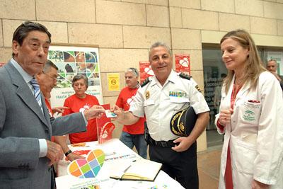 El comisario jefe de la Policía Nacional, Leoncio Lorente