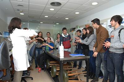Los alumnos conocieron cómo hacer el lavado de manos