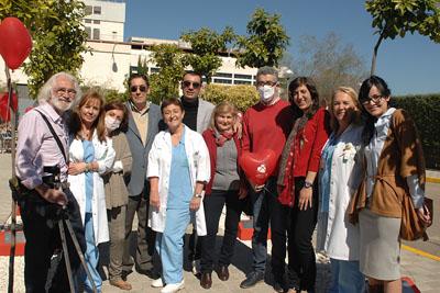 Pacientes trasplantados y profesionales sanitarios