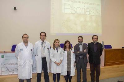 Antonio Vélez, Ignacio Muñoz, Marina Álvarez, Mª Dolores López, Juan Ruano y Antonio Manfredi