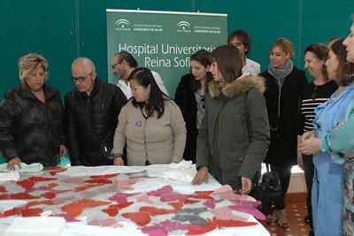 Algunos de los pacientes que han participado en el taller creativo