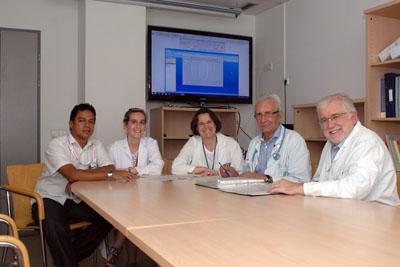 Nefrólogos e inmunólogos que participan en el estudio
