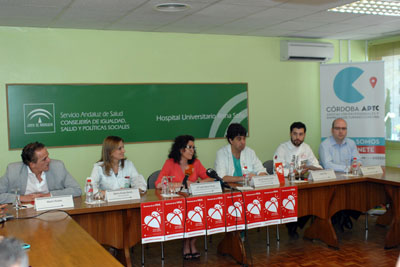 La delegada de Igualdad, Salud y Políticas Sociales, en el centro, en la presentación de la Semana de la vida
