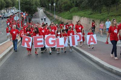 La marea roja que recorrió el vial norte de Córdoba