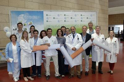Profesionales celebran en el Hospital Reina Sofía el Día Mundial Sin Tabaco