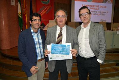 Entrega medalla de planta al Hospital Reina Sofía