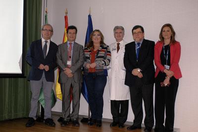 Manuel Alonso, Justo P. Castaño, Mª Ángeles Luna, Ángel Salvatierra, Francisco Santos y Paula Moreno