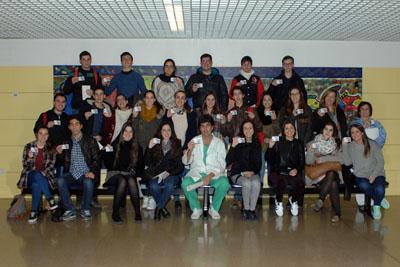 Alumnos del IES Inca Garcilaso, de Montilla
