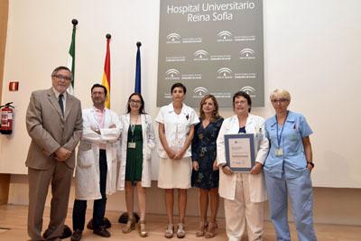 Profesionales de la UGC de Inmulogía y Alergia reciben el distintivo de calidad