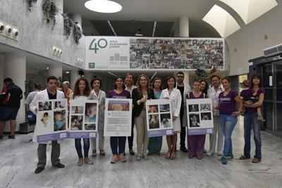 El hospital celebra la Semana Europea de la Lactancia Materna con una exposición de Almamar