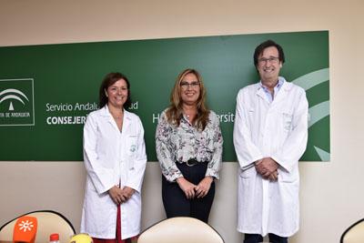 Valle García, María Ángeles Luna y Miguel Romero