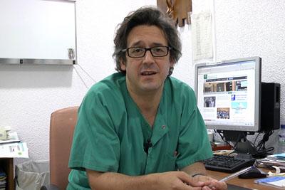 El oncólogo Juan de la Haba