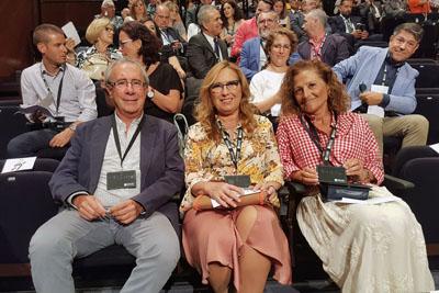 Coordinador autonómico de trasplantes y delegadas de Salud de Córdoba y Sevilla