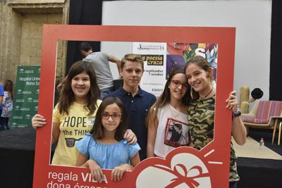 Escolares del centro Rafael de la Hoz