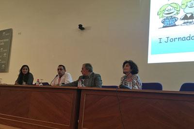 Concepción Aranda, Mariano Ledesma, Eduardo Collantes y Rosa Roldán inauguran el encuentro