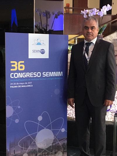 En la imagen, el nuevo presidente de la Sociedad Española de Medicina Nuclear e Imagen Molecular, Juan Antonio Vallejo