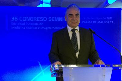 El doctor Vallejo, en la celebración del 36 Congreso de la SEMNIM