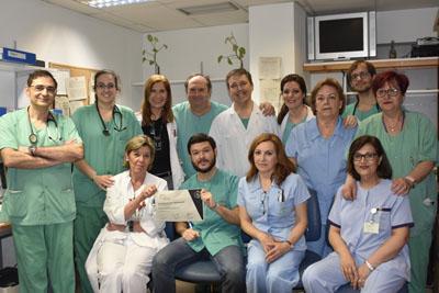 Profesionales de Cardiología del Hospital Reina Sofía reciben la acreditación de Excelente de la Sociedad Española