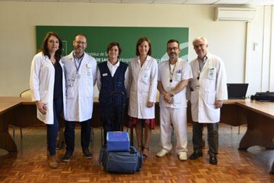 Pilar Pedraza, Juan José Castón, Consuelo Ortíz, Valle García, Manuel Recio y Julián de la Torre