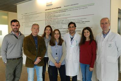 En la imagen, especialistas en Oftalmología del Hospital Reina Sofía e investigadores del grupo grupo de Calidad Visual del IMIBIC