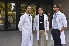 Enrique Gómez, Daniel Lopez y José Valero
