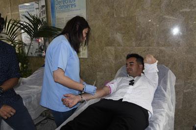 El futbolista ha participado en la campaña especial de donación de sangre