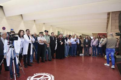 Instituciones y colectivos han participadon en el homenaje al donante Mil