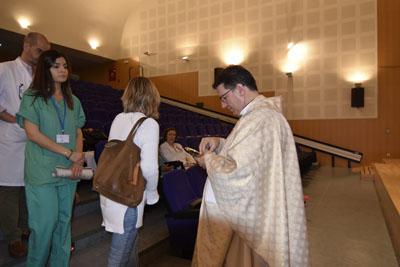 Esta mañana se ha oficiado una misa en homenaje al donante