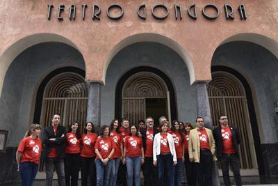 Los trabajadores del Gran Teatro se suman a la campaña de promoción de la donación de órganos