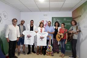 Artistas, responsables del Festival de la Guitarra y del hospital presentan el concierto