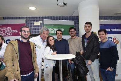 Profesionales de Endocrinología explican su unidad