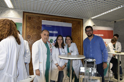 Profesionales de Neumología explican su unidad