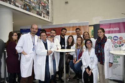 Profesionales de Radiodiagnóstico explican su unidad