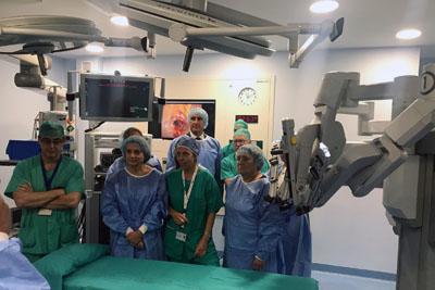El HURS incorpora cirugía robótica que incrementa la precision