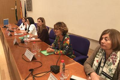 Valle García, Maribel Baena, Marina Álvarez, Leonor Ruiz, María Josefa Cabeza de Vaca