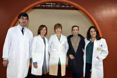José María Dueñas, Valle García, Carmen Martín, Lidia Piñero, Concepción Herrera