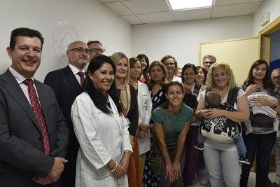 El Hospital Reina Sofía cuenta con un Banco de Leche Materna