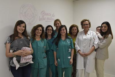 Profesionales de Neonatología en el Banco de Leche Materna