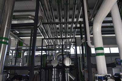 La central térmica cuena con equipamiento muy sofisticado