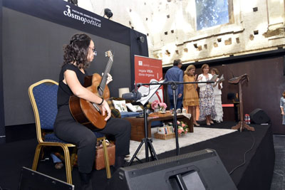 La música ha acompañado durante todo el recital