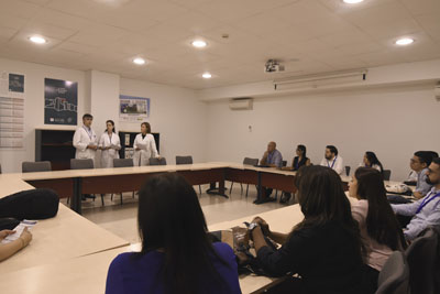La unidad de Reumatología es referente en el manejo de esta enfermedad