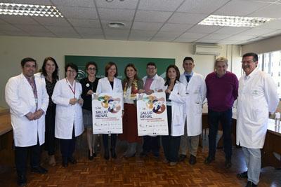 El Hospital Reina Sofía conmemora el Día Mundial del Riñón