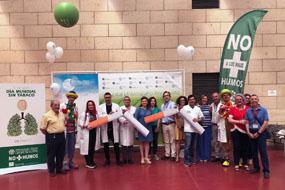 El Hospital Reina Sofía celebra un año más el Día Mundial Sin Tabaco