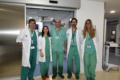 Profesionales de la Unidad de Cirugía General y Digestiva