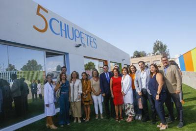 Autoridades visitan la Escuela Infantil Hospital Reina Sofía