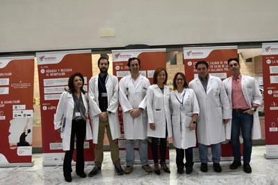 El Hospital acoge una exposición sobre la percepción de pacientes con esclerosis múltiple
