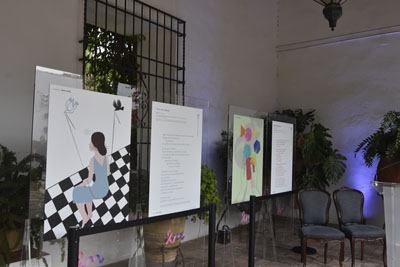 La exposición se trasladará al Hospital Provincial a finales de mes